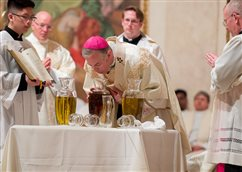 The power of unity stressed at chrism Mass