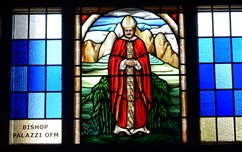 The chapel at a Beaverton retreat center now has stained glass as a help in prayer