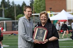 Rupp inducted into CYO Hall of Fame