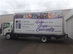 Truck to help charity's reach