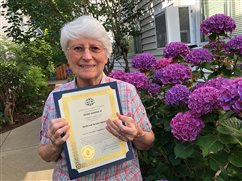 Sister honored for faith and service
