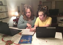 'A grace in it all': Parents reflect on nearly a year navigating work and distance learning
